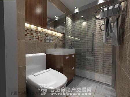 洗手间装修效果图大全2013图片 厕所装修效果图