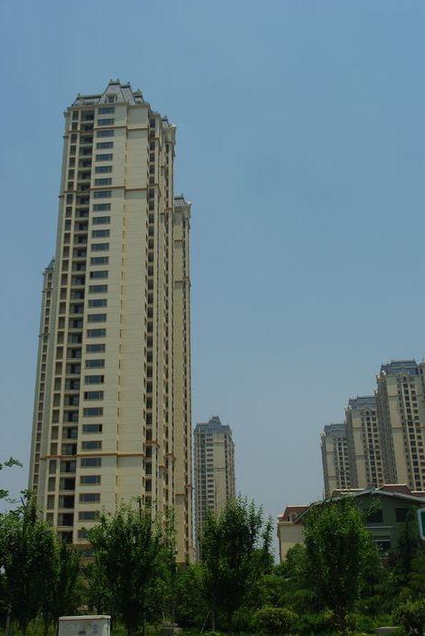 义乌高大上住宅小区 欧景名城东边套通透带车位 楼层好看房方便