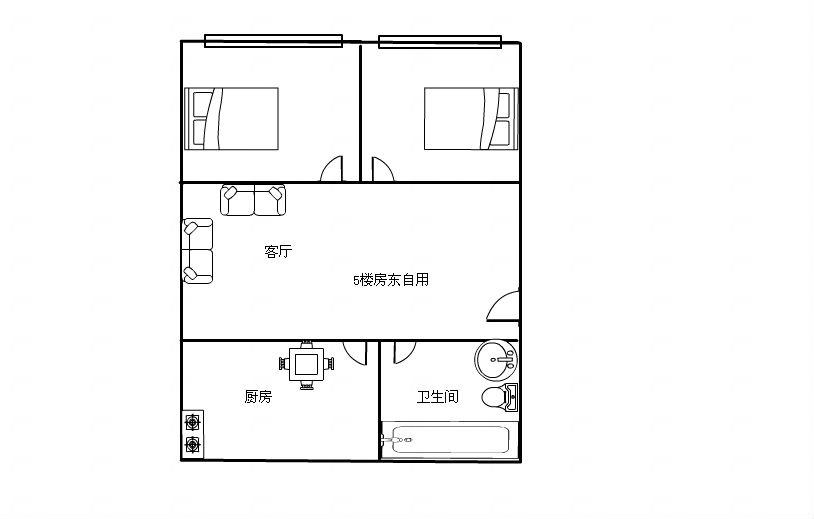 两间四层楼房设计图纸展示