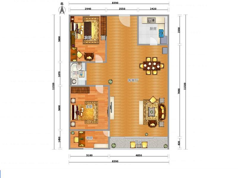 养猪场设计图 小型 规划展示