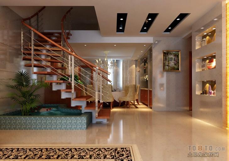 90平方楼中楼设计图图片 楼中楼楼中楼装修效果图  90平方自建房设计