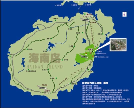 海南省房产地图