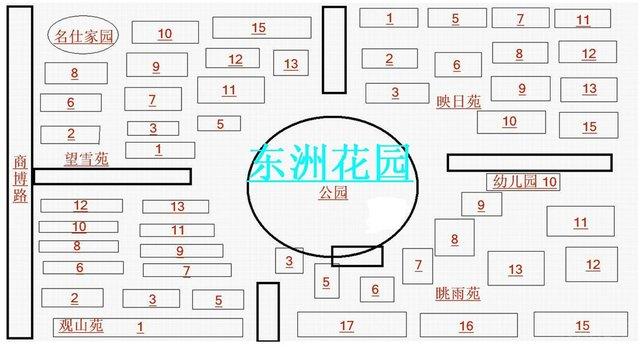 青岛鹏程花园户型图