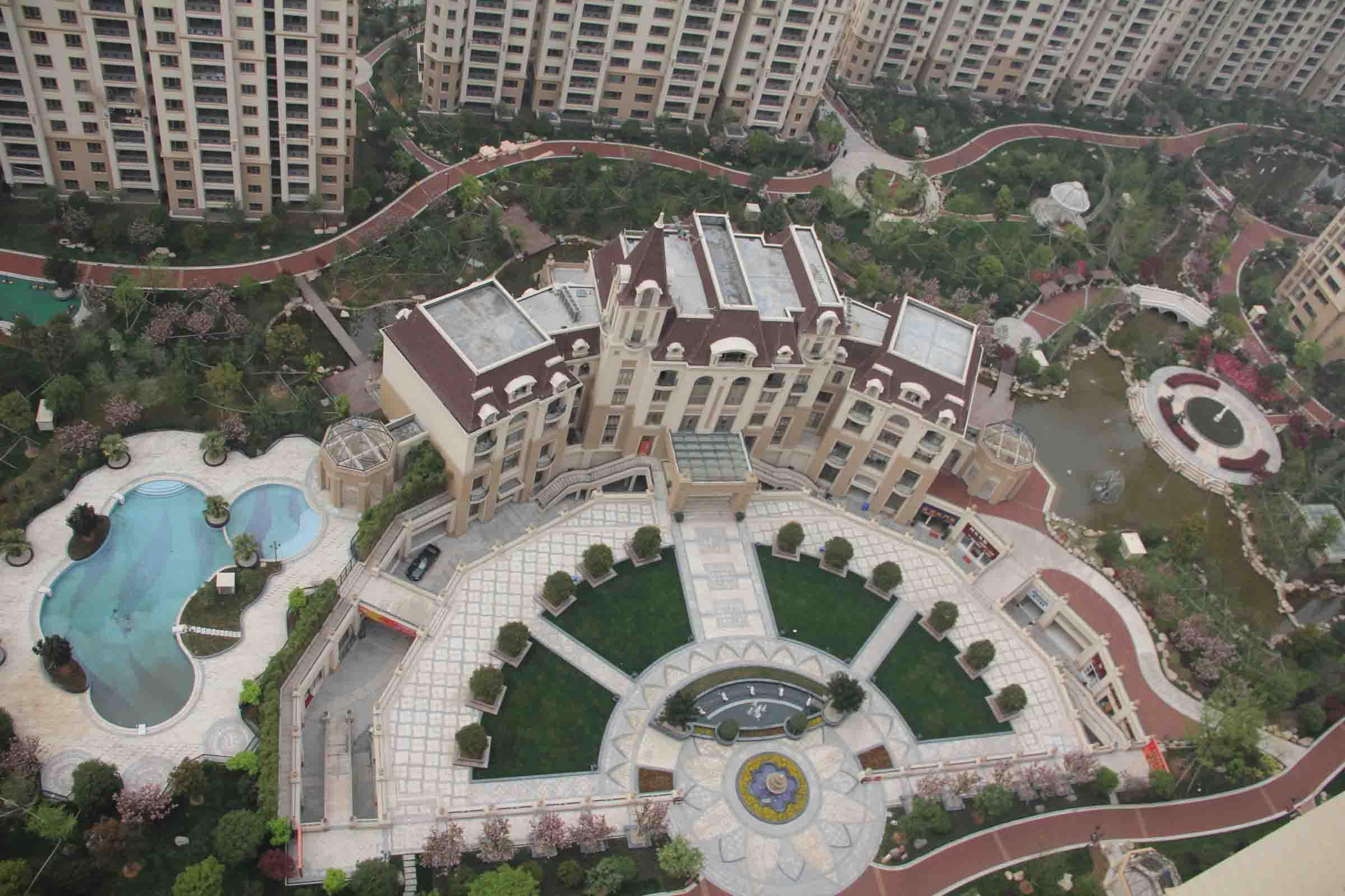义乌热房网 欧景名城178平298万加车位楼层高 图片