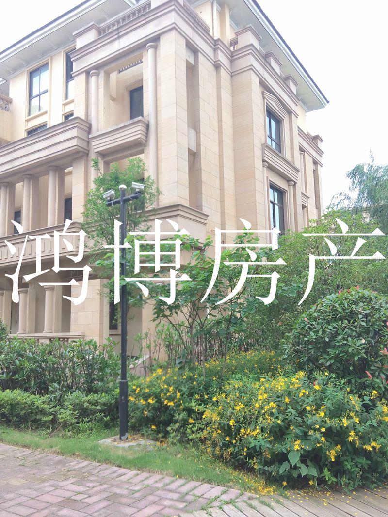 【鸿博--万商华府别墅】大花园 大边栋 潺潺小溪旁 还可更名