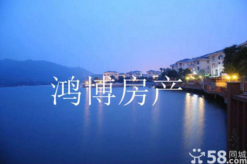 【鸿博--黎明湖独栋别墅】湖岸正中心 最佳观景房 2300万