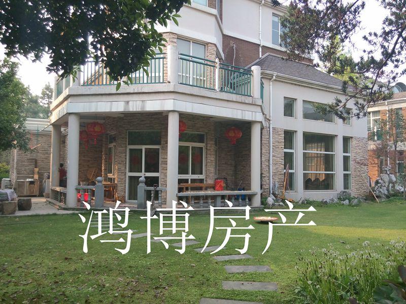 【鸿博--江东嘉鸿华庭】超大花园500平 市区独栋江景别墅