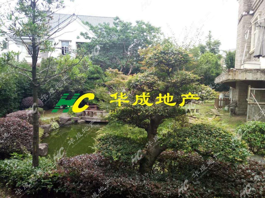 紫荆庄园一期排屋豪装300万,花园400平,诚心出售,看房方