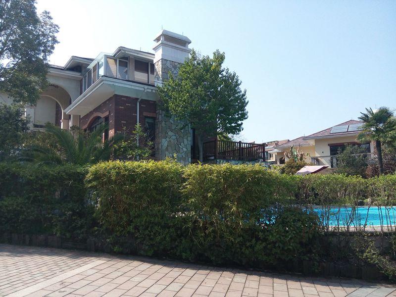 海德别墅私家泳池