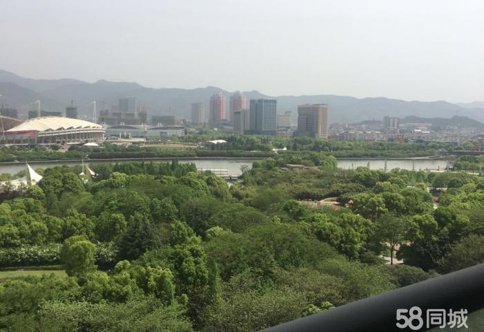 江滨国际 一线江景房 宾王中小学 学区房