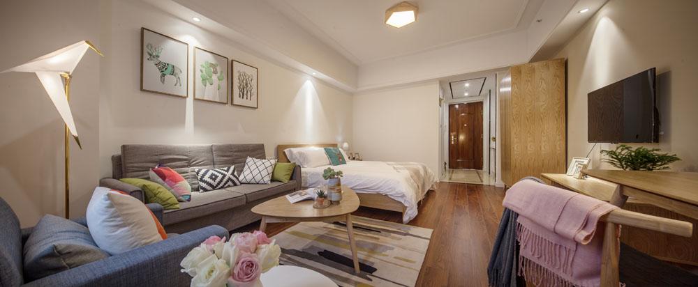 义乌万达广场精装酒店式公寓现低价对外出租