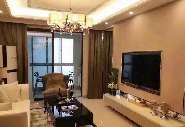 东阳财富公馆118平40万豪华装修 家具家电全送 诚售
