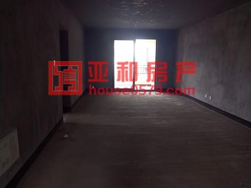 【义乌二手房】万达华府 边套户型143平三室双阳台 毛坯房