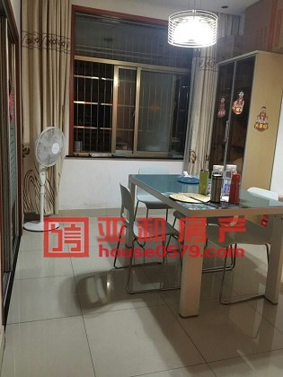 【亚和200%真房源】丹桂苑106平175万清爽装修