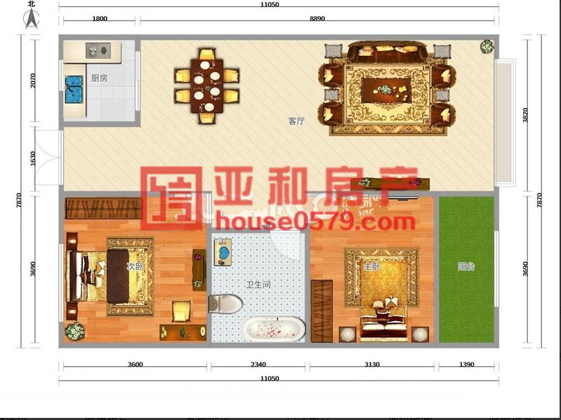 【亚和200%真房源】现代公馆 黄杨梅小学 绣湖中学电梯新房