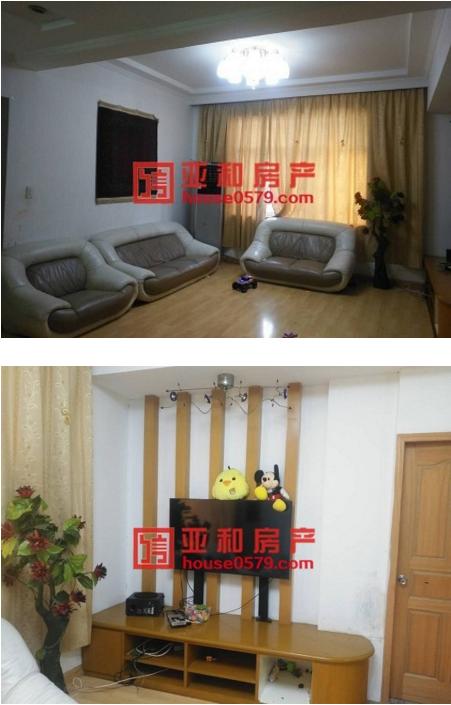 稠城三小宾王中学优质学区房 香港城 精装修可拎包入住
