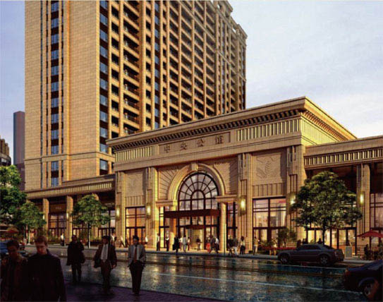 【中央公馆楼中楼】2栋顶楼楼中楼 147平单层面积 800万