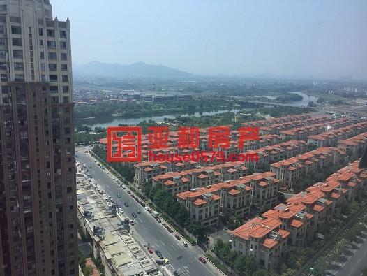 【万达晶座】83平120万 精装修 2间一起卖 高楼层采光好