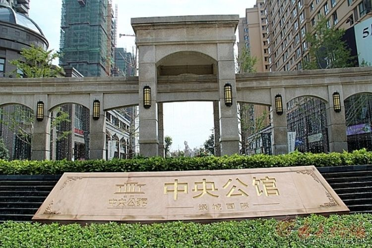 义乌市中心位置 中央公馆 稠城一小城南中学优质学区房