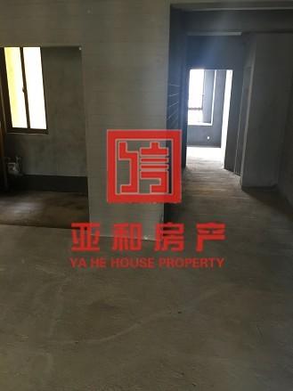 【义亭-五亭华府】高楼层毛坯房  131平三室双卫125万