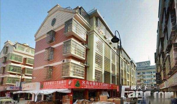宾王拉链街占地2间半店面垂直楼商贸区边年租金38万位置好出让