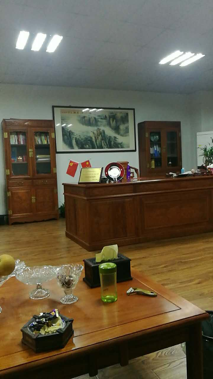 已装潢办公室