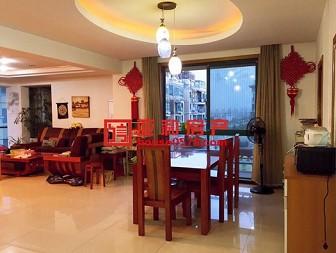 国际村 小区中心位置 板楼结构 客厅大气 空气流通性强