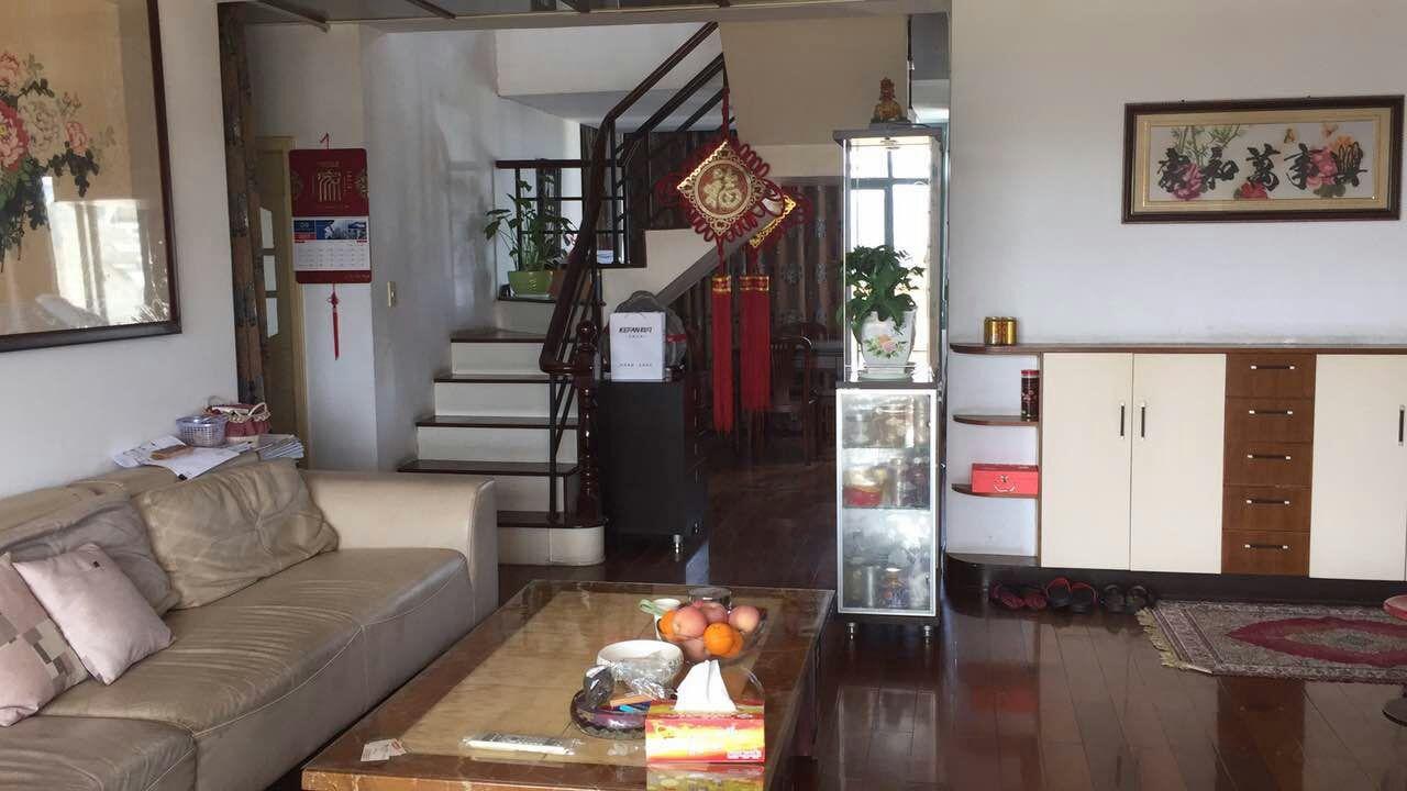 锦都豪园顶楼楼中楼急卖大露台位置好绿化高品质小区