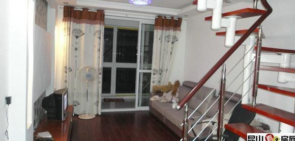 现代公寓54+54P 楼中楼结构 精装修,朝南 底价@¥¥
