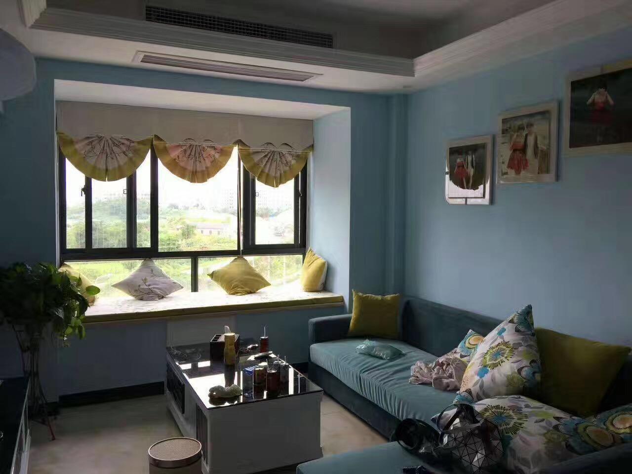 紫荆公寓96平边套中等装修中层诚心出售