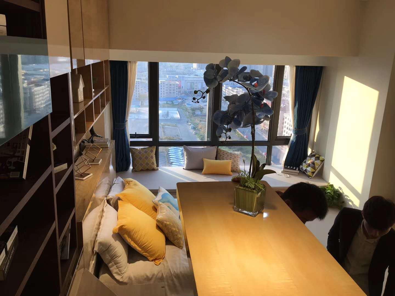 江滨一号最后一套118特价边套公寓 户型好价格低可做3房