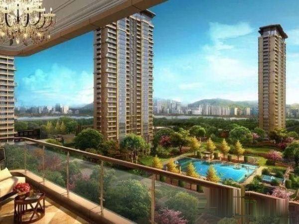 江东雄伟建筑群中央城原现代城超价格惊喜不断