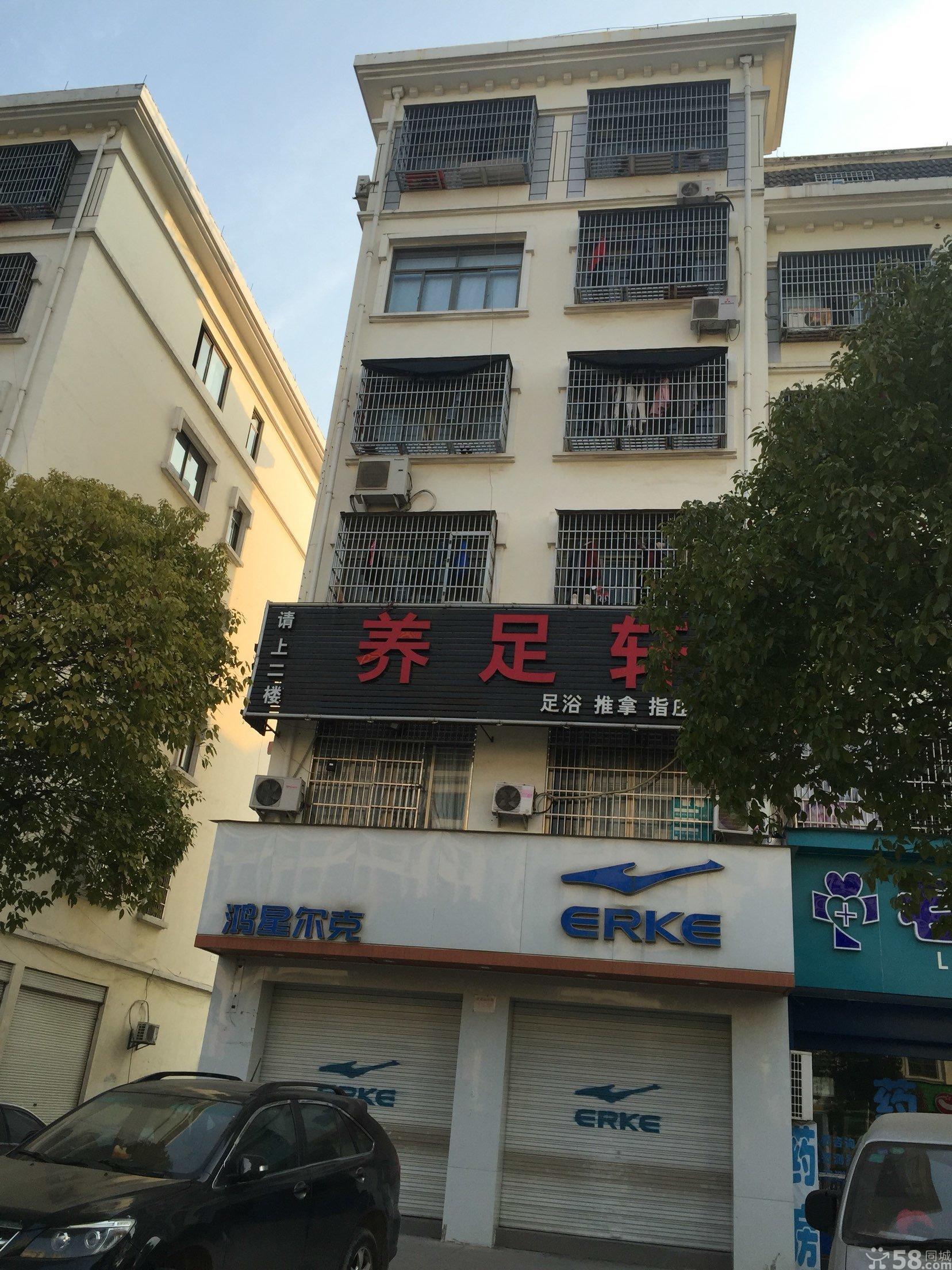 城西伏龙山路沿街店面垂直房1间8层占地55平年租金10万