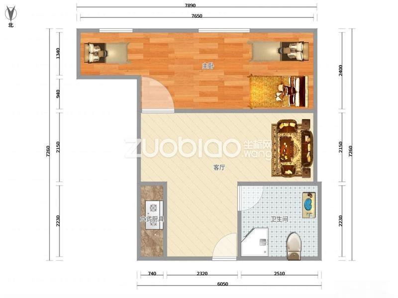 1.20日发布,沪江公寓,北苑小面积房源,总价低,好出租