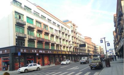 义亭镇前街店面4间5层整体预租,现二楼框架180�O出租