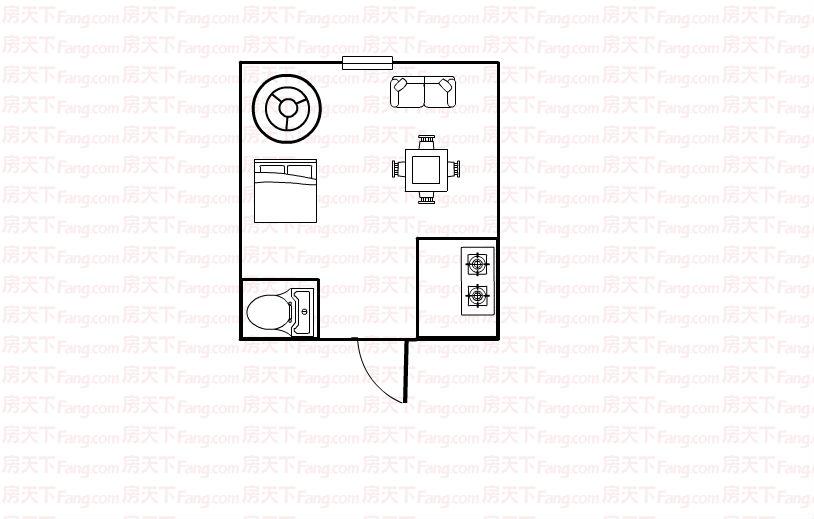江东南路小户型精装修送家具家电读实验,城南,总价低可按揭