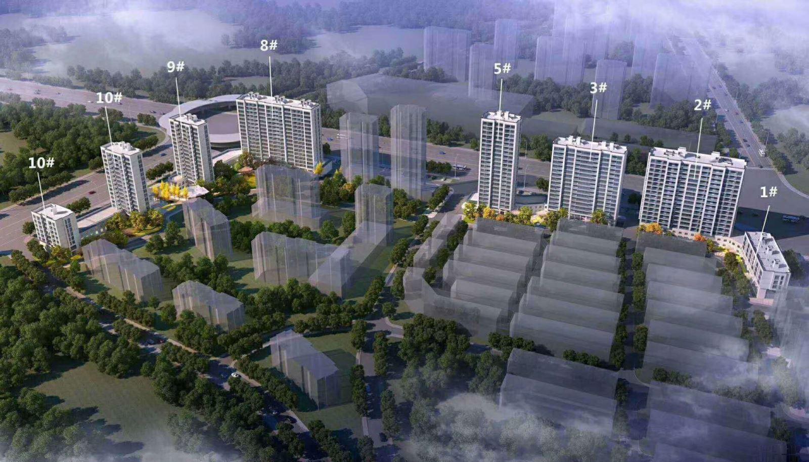 万固融城 紧邻双江湖项目 全新新房首付三成仅需1.3静待上涨