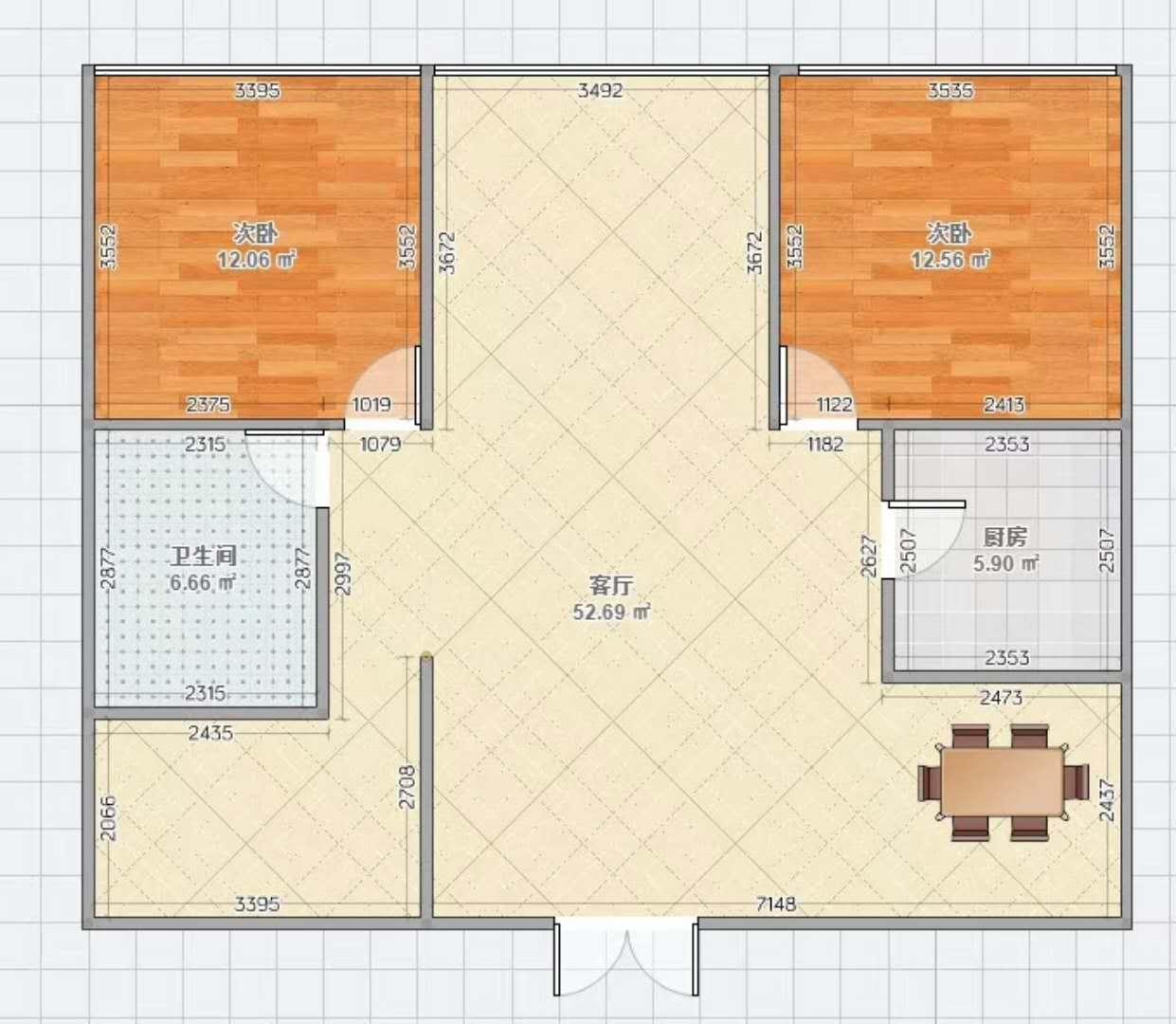 龙回9号133平楼层好边套185万可贷款