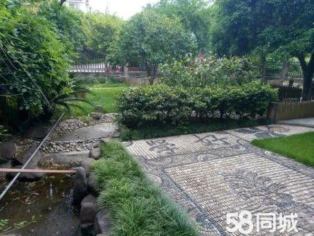 钓鱼矶墅园独栋别墅出售中.带300平大花园