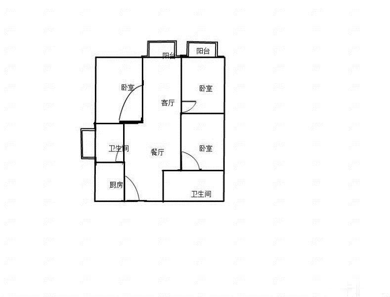 东边套 绿城玫瑰园3房毛坯只要415万 万达商圈