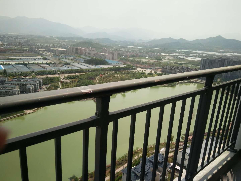 观朝阳湖的观景房 楼下是公园 镇中 镇小