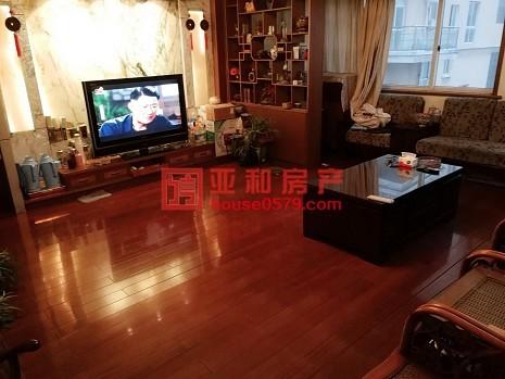 【义乌稠江经贝家园精品房源】产证齐全 带大露台 红木装修