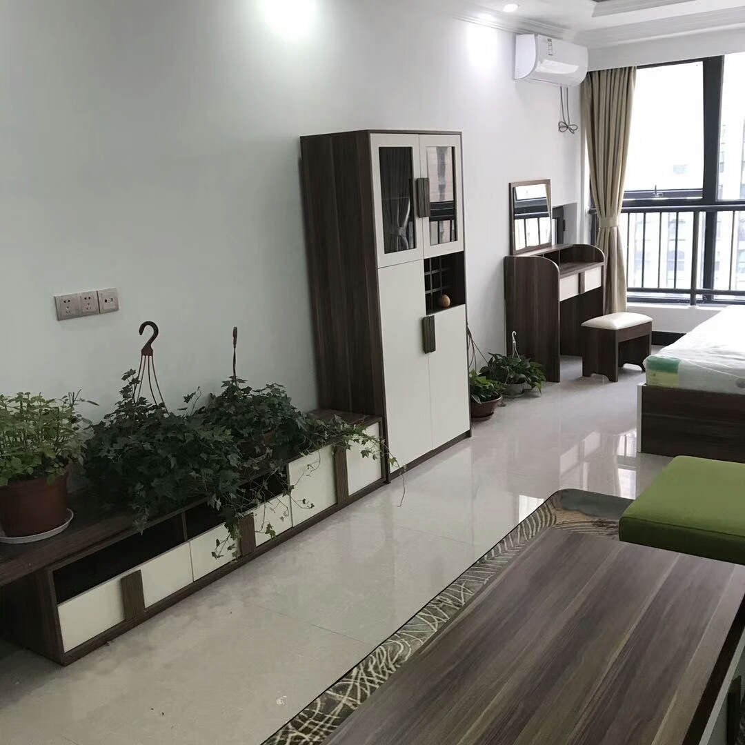 万达公寓53平精装修未入住送家具楼层好位置好房东诚心出售
