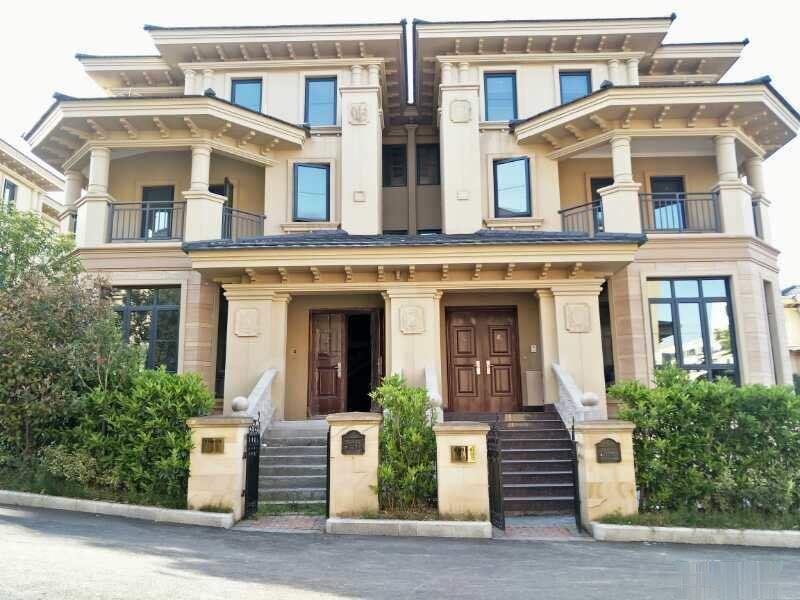 嵊州法式排屋别墅,双拼单价6400,总价270万有天有地大花