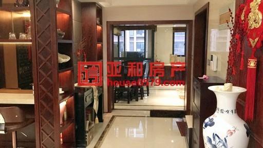 【万达华府】124平中式精装修 江景房 带车位产证齐全可看房