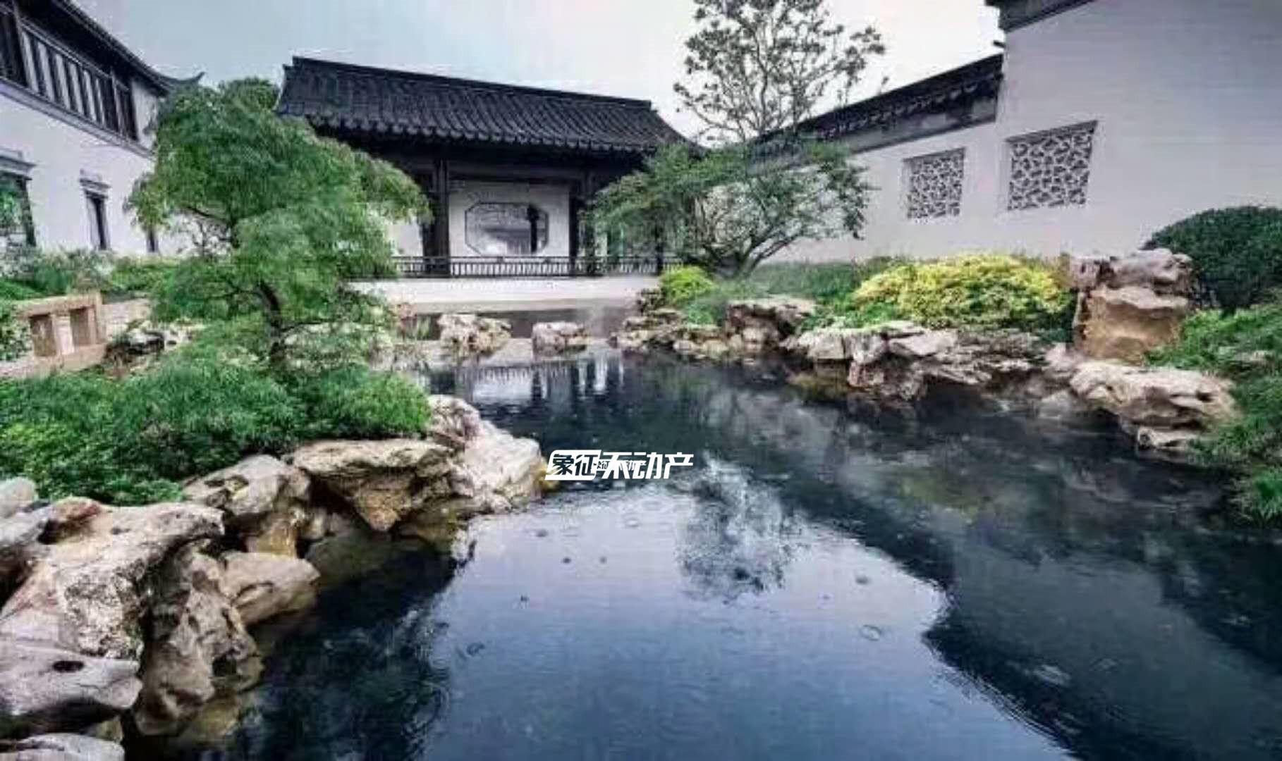 诸暨和庄沁园,独栋四合院,室内休闲,室外花园,大气奢华