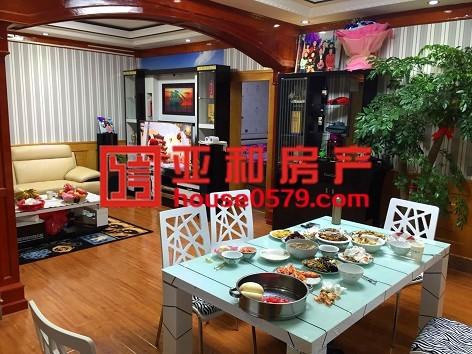 香港城137.6平3房2厅精装修   稠城三小宾王中学学区房