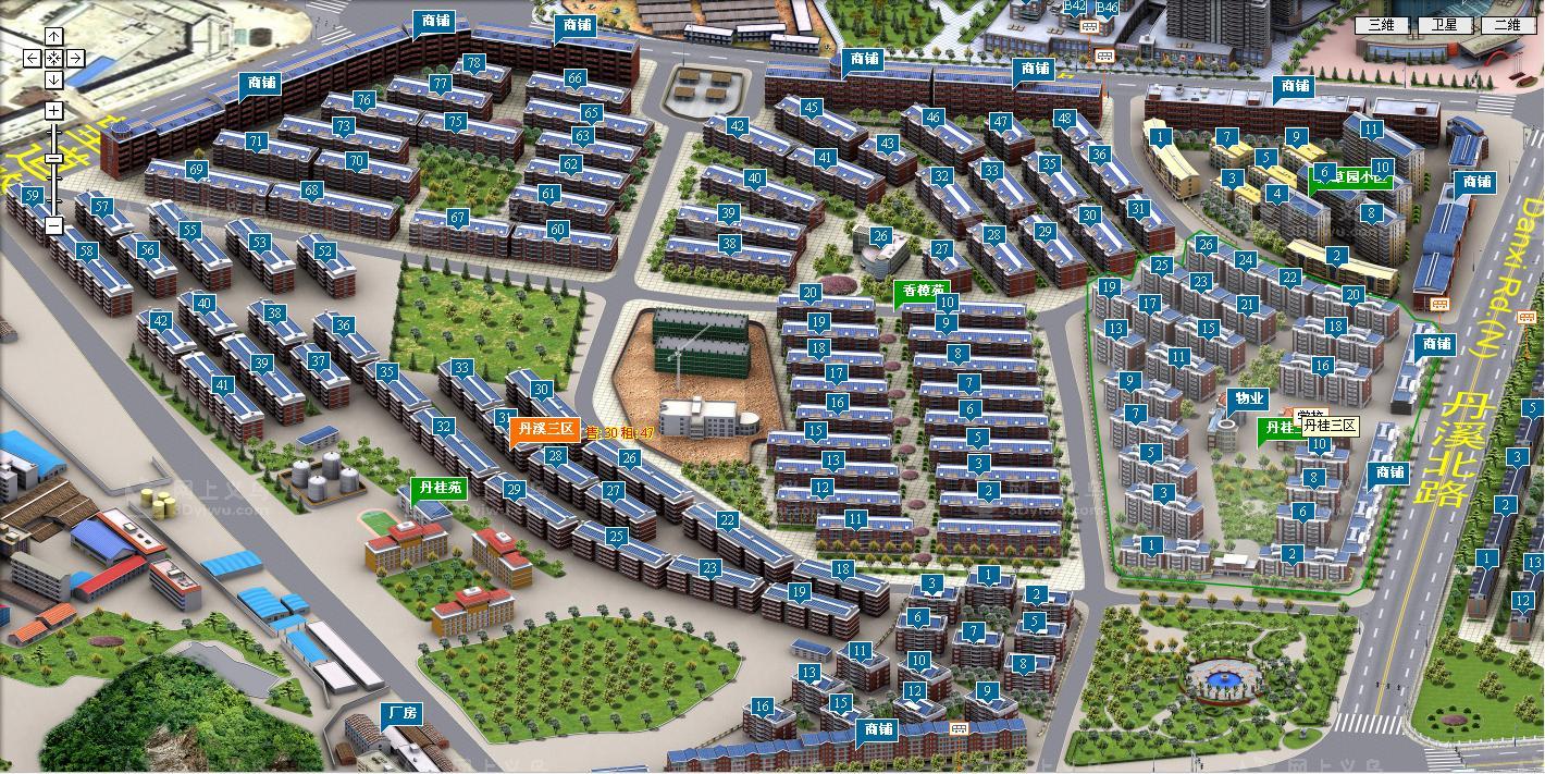 【丹桂苑垂直房】占地6间确权1750平 产证齐全 投资首选房