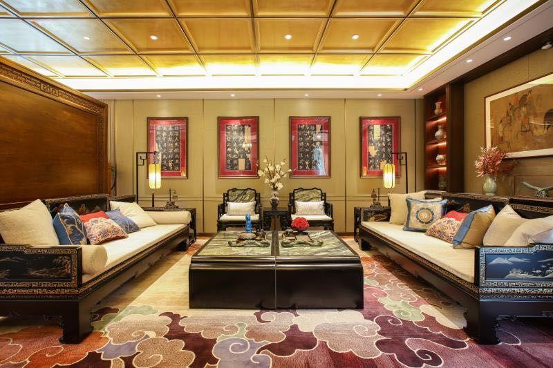 新中式府制院墅 风水上位 传世大宅 世界木雕 红木之都