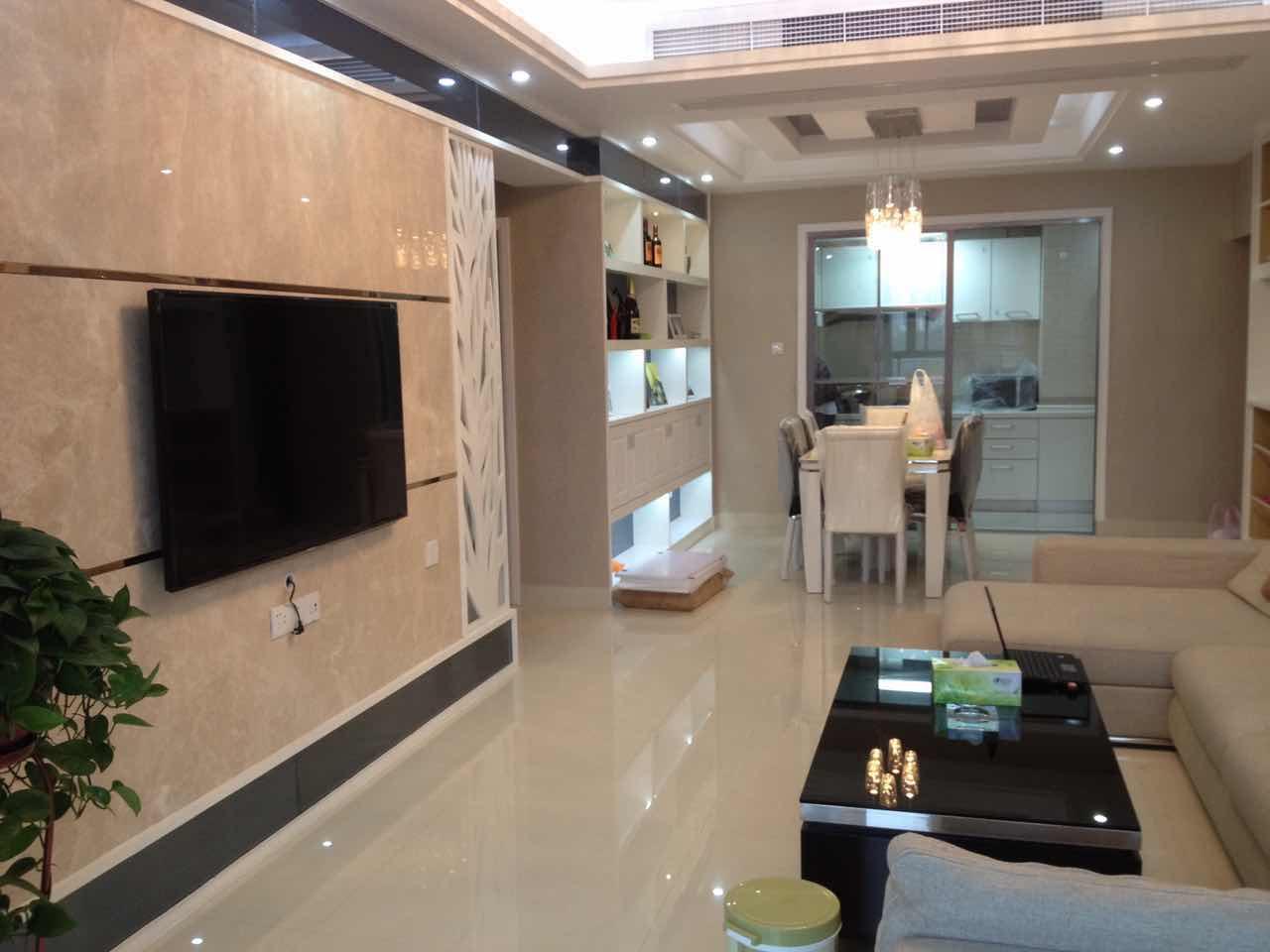 紫荆公寓 高层边套 全新装修未入住 有证可以按揭